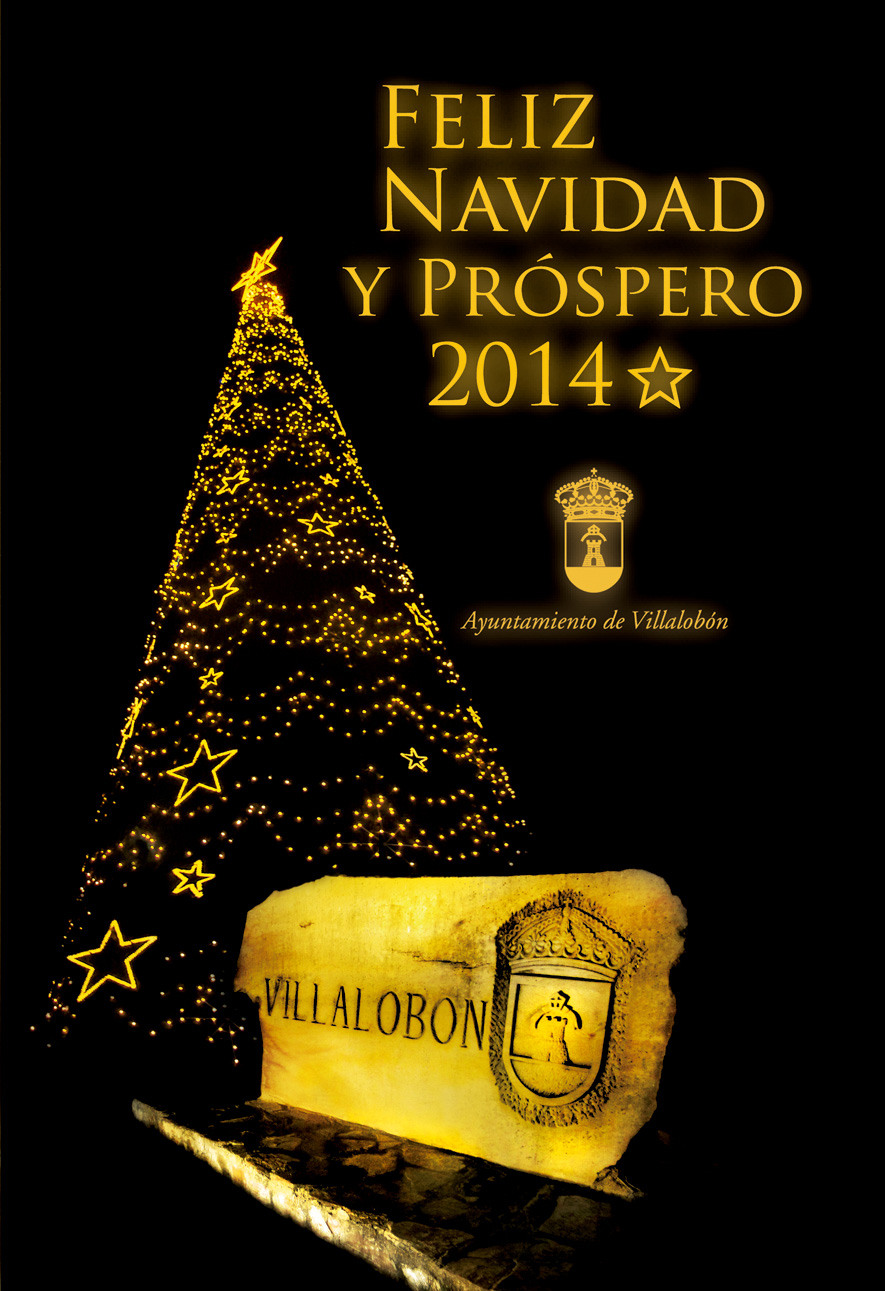Felicitación navideña y programa de Navidad 2013