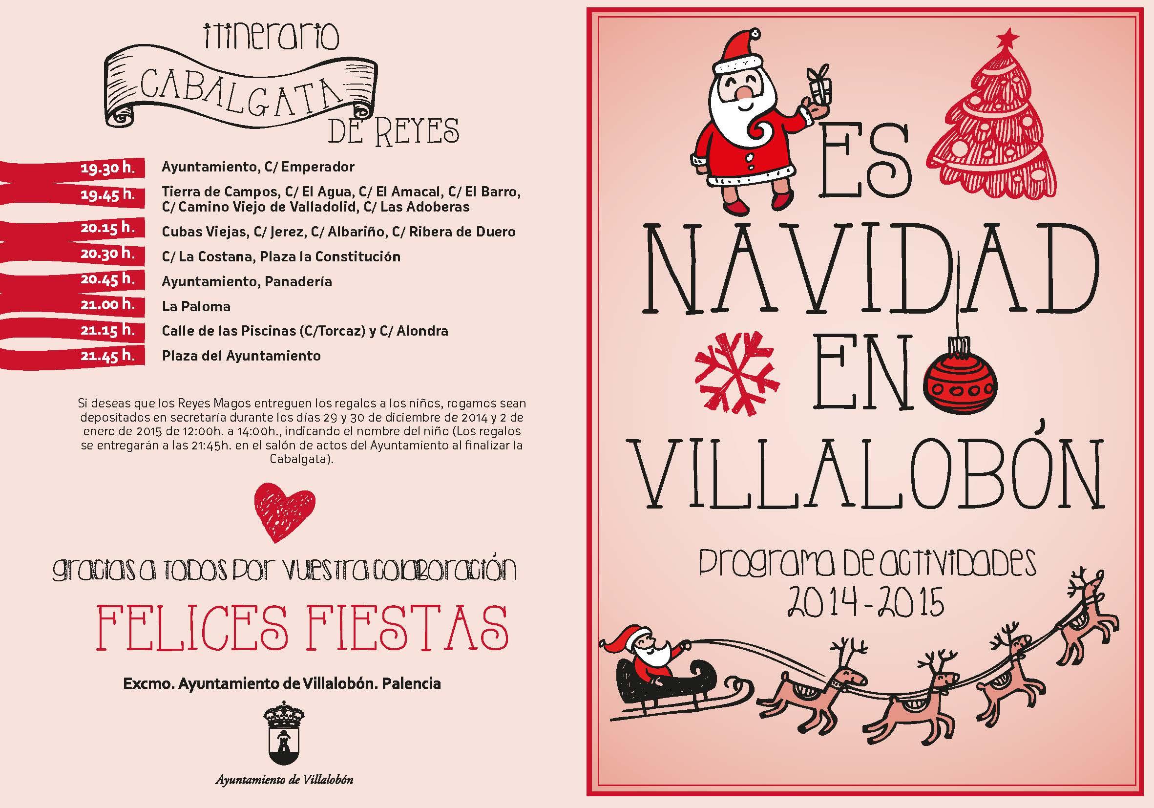 Programa de Navidad 2014