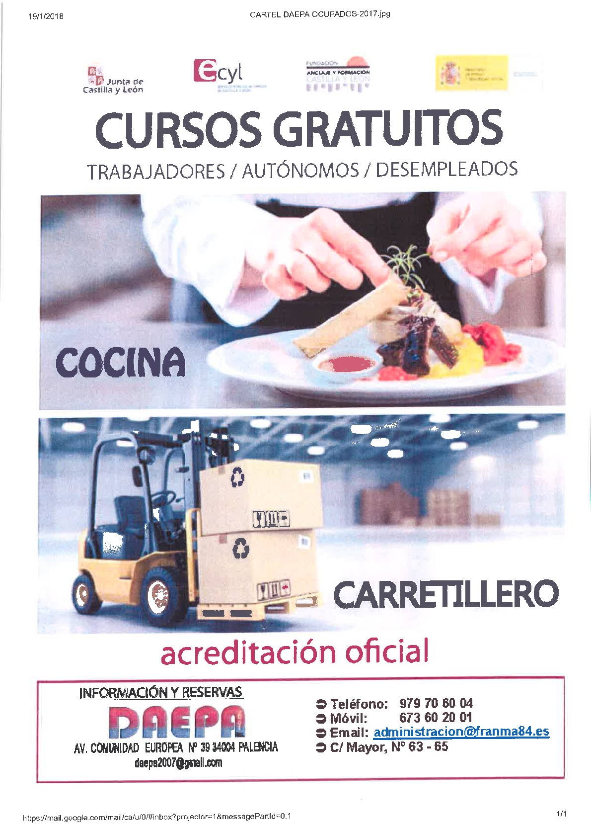 COCINA Y CARRETILLERO