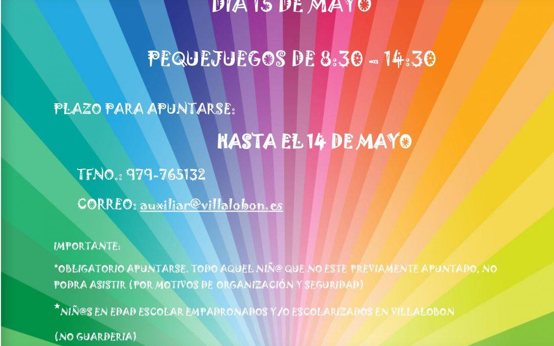 PEQUEJUEGOS 15 DE MAYO