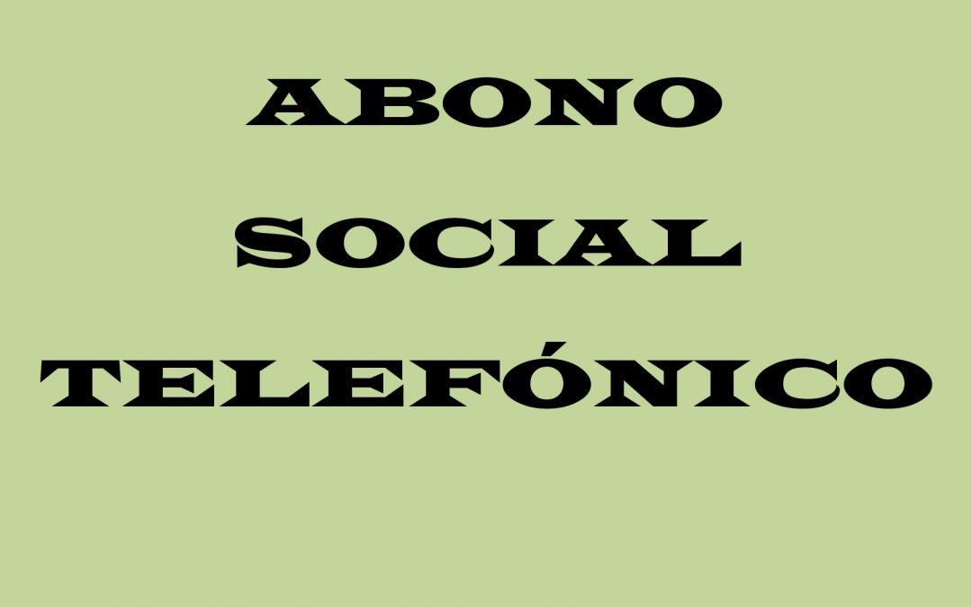 Abono Social Telefónico