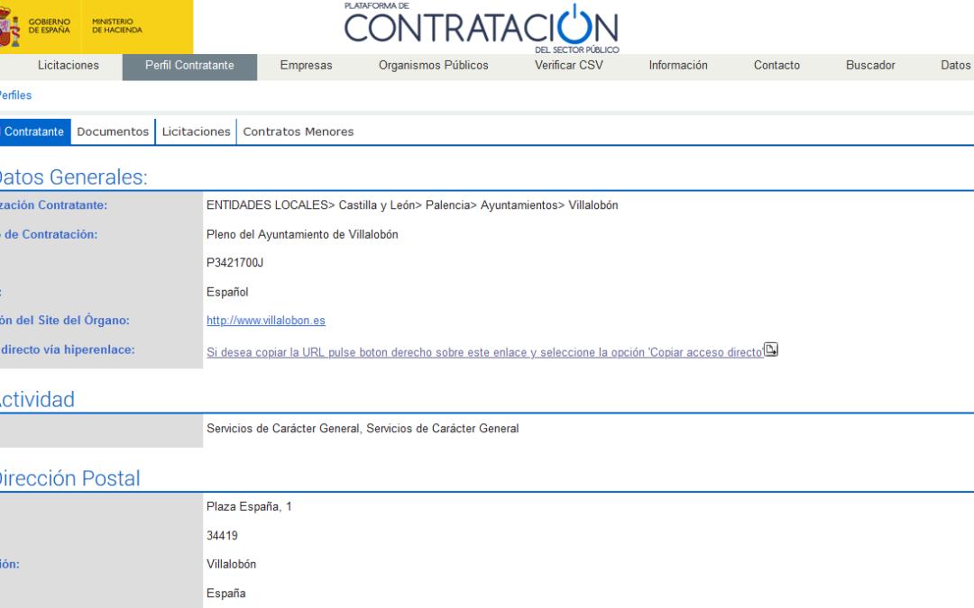 Anuncio de Licitación. Servicio  de  infraestructura  y  gestión  de  espectáculos  para  las  ferias  y  fiestas  del  municipio  de  Villalobon.para el año 2.020