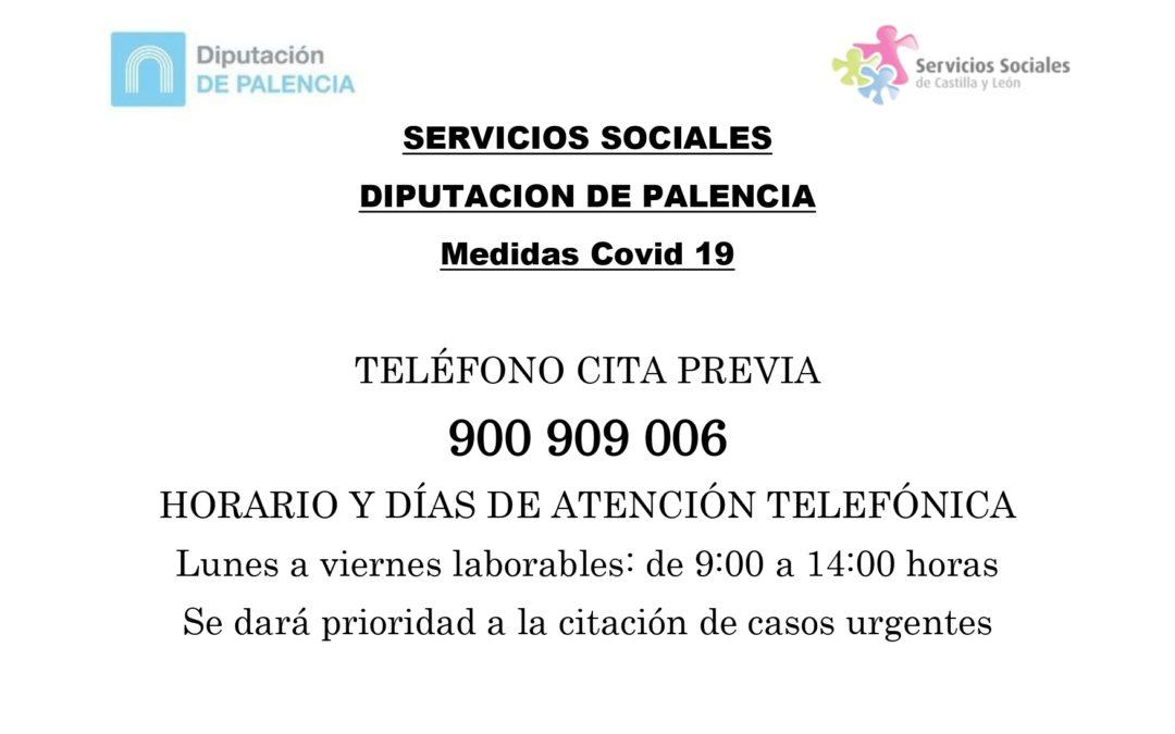 HORARIO SERVICIOS SOCIALES