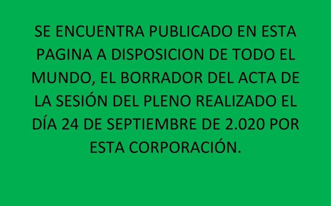 PUBLICACION BORRADOR 24 SEPTIEMBRE 2020