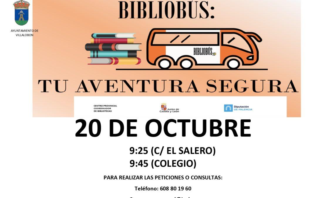 BIBLIOBUS 20 OCTUBRE