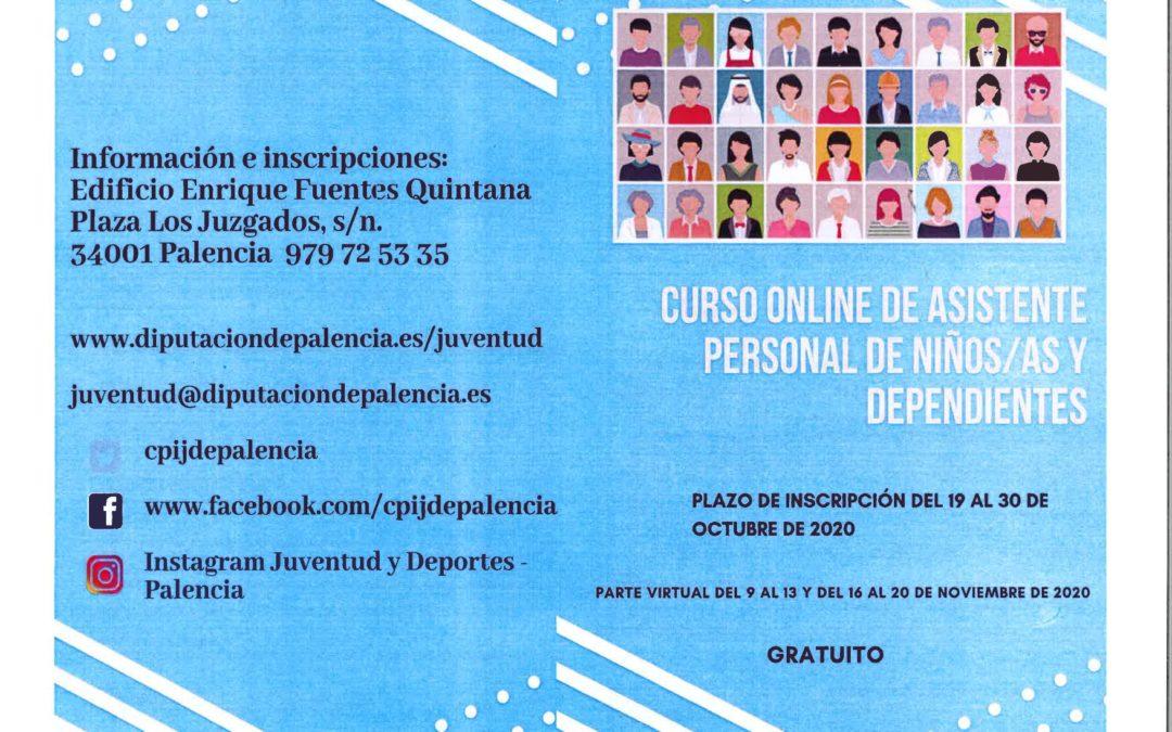 CURSO ONLINE ASISTENTE PERSONAL NIÑ@S Y DEPENDIENTES