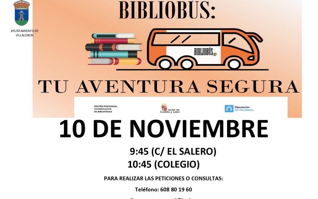 BIBLIOBUS 10 DE NOVIEMBRE
