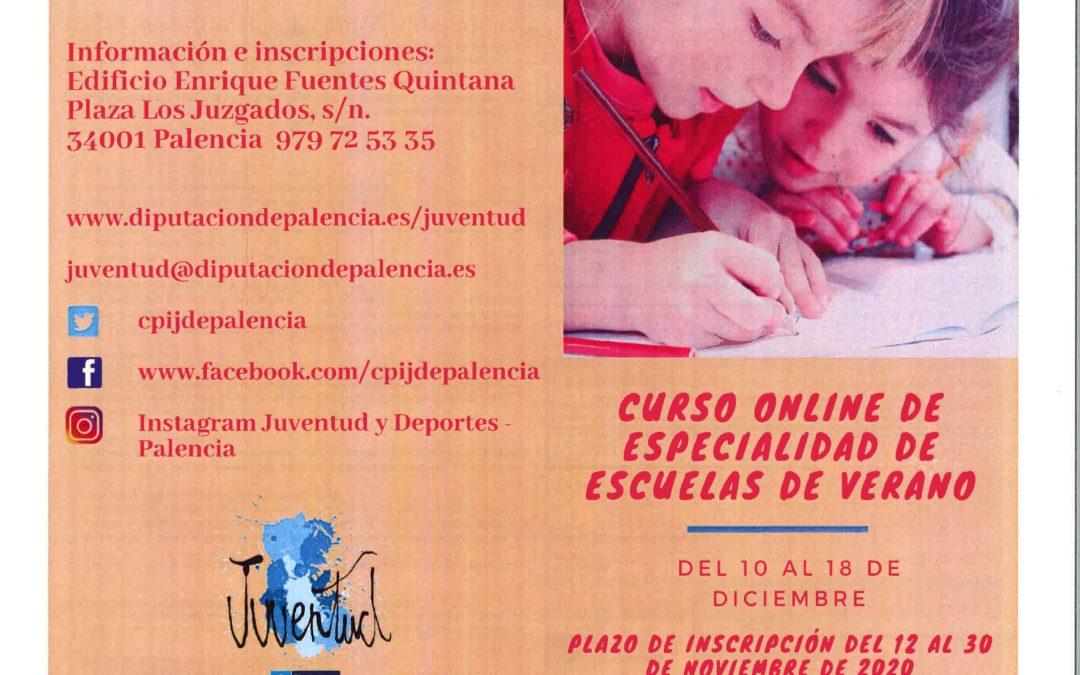CURSO ONLINE ESCUELAS DE VERANO