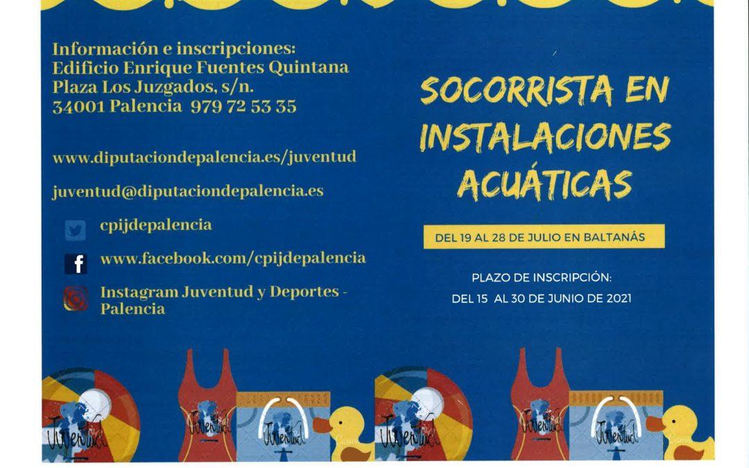 CURSO SOCORRISTA INSTALACIONES ACUATICAS